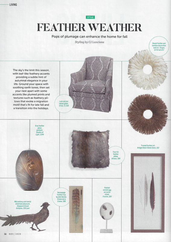 Fall Feathers Interiors Inspiration